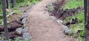 Trail over culvert