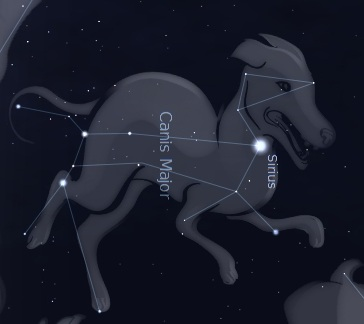 dog-star-constellation